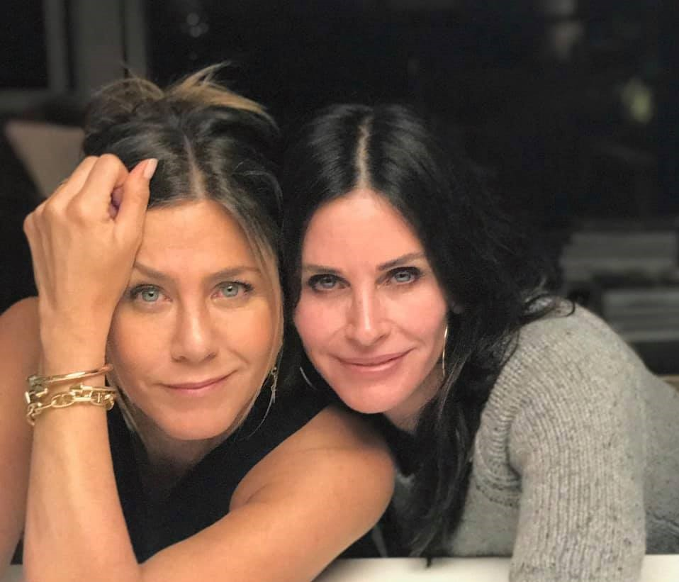 Courteney Cox e Jennifer Aniston