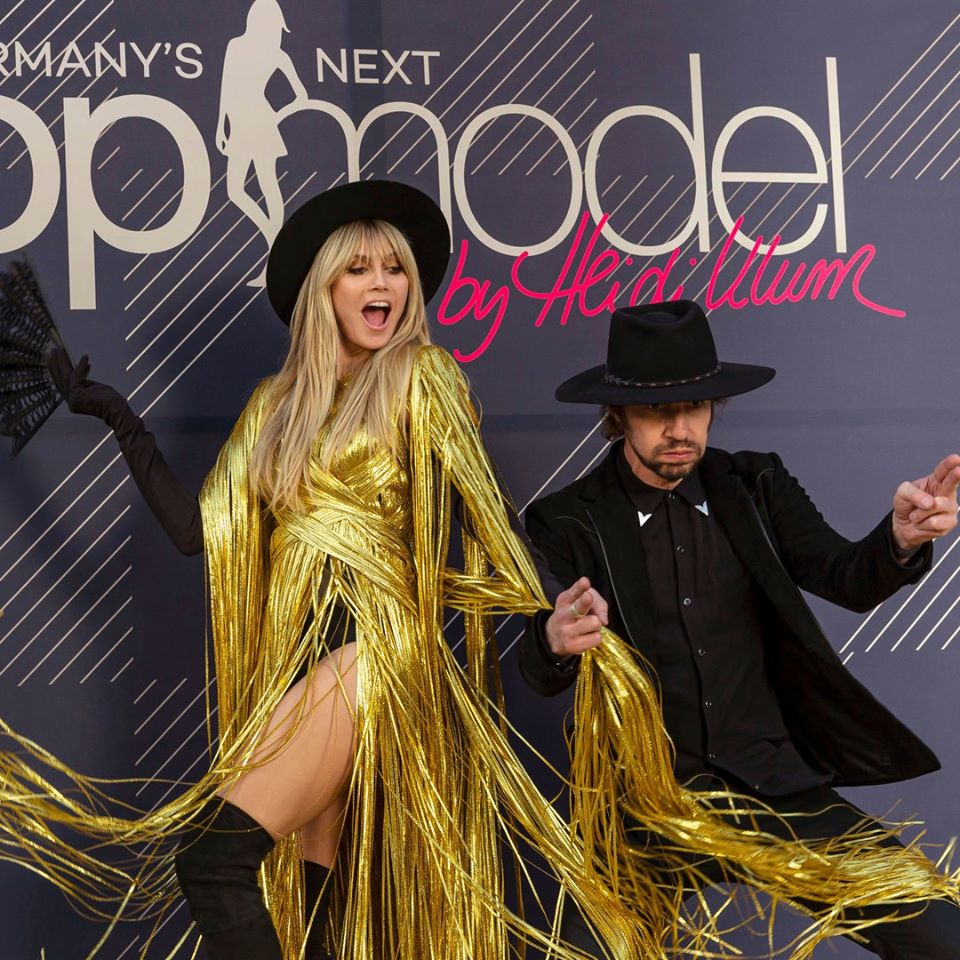 Heidi Klum em Germany's Next Top Model