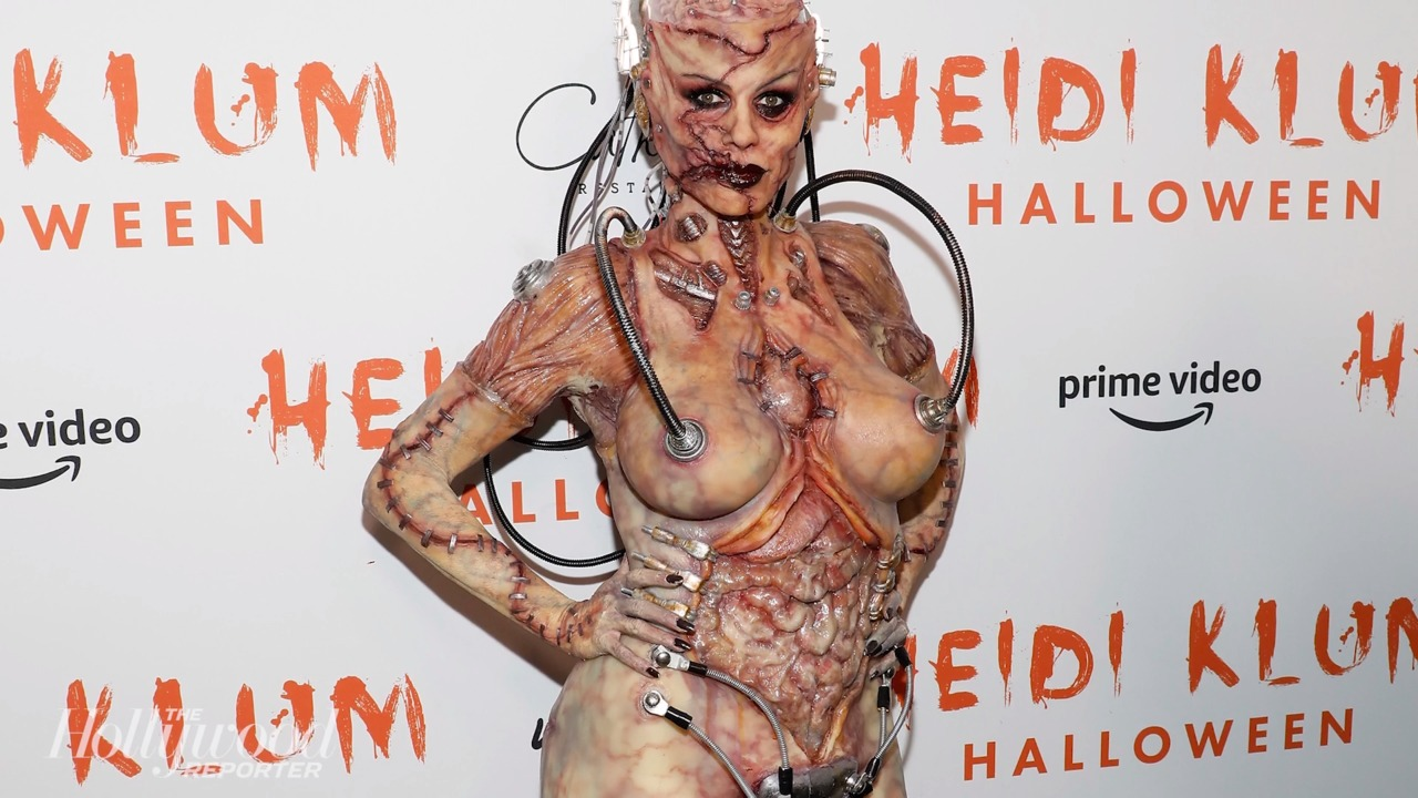 Heidi Klum no Halloween
