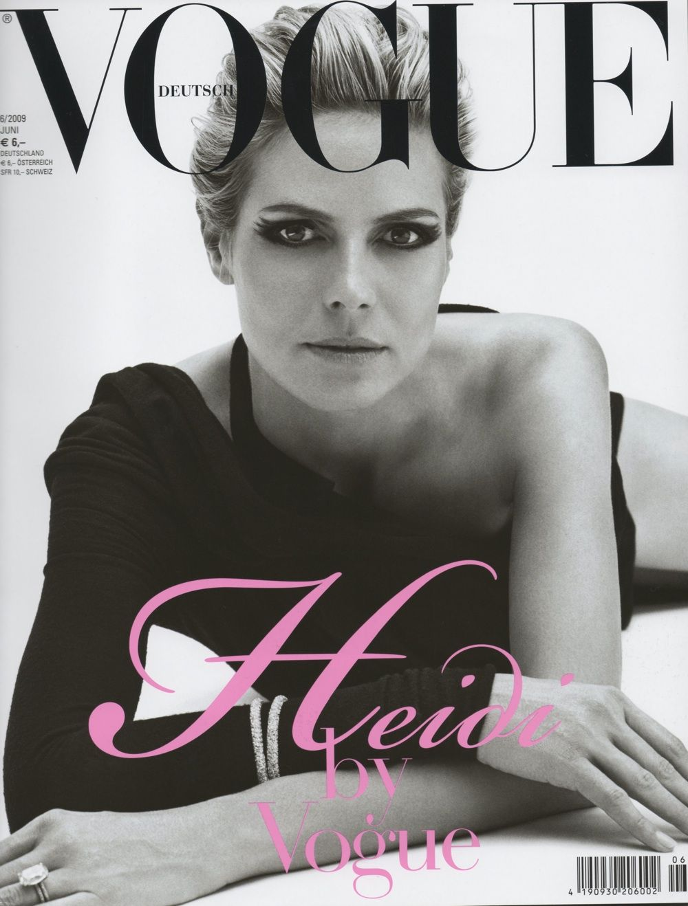 Heidi Klum na capa da Vogue Alemanha