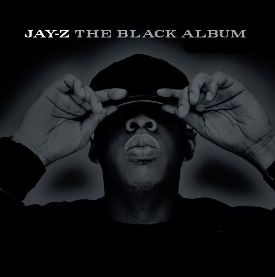 Jay-Z na capa de The Black Album