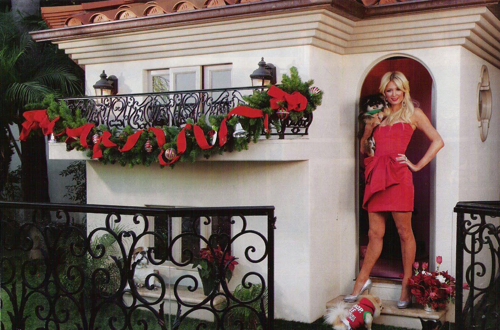 Paris Hilton e a mansão de seus cachorros