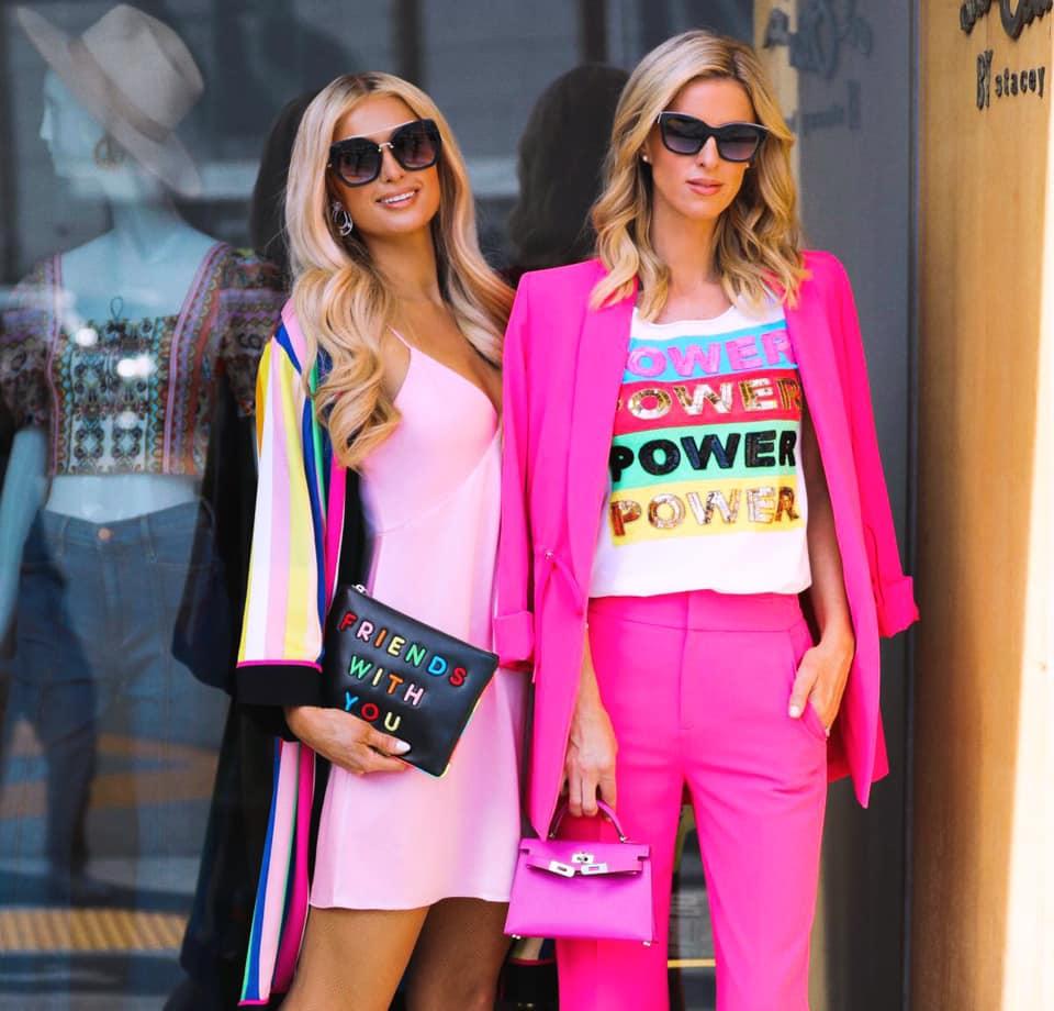 Paris Hilton e a irmã, Nicky Hilton