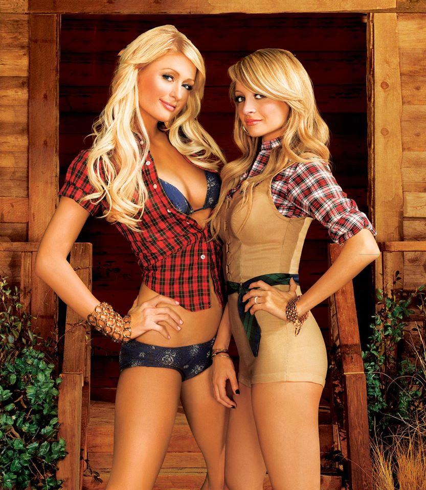 Paris Hilton e Nicole Richie no reality The Simple Life