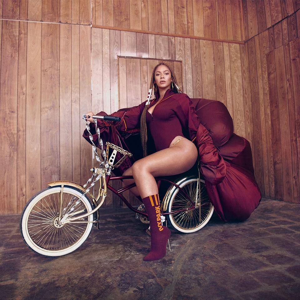 Beyoncé vestindo Ivy Park