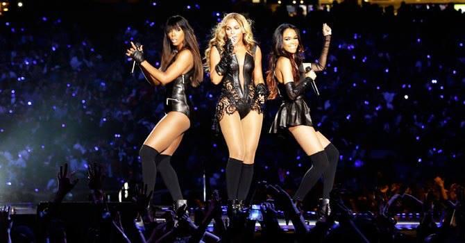 Beyoncé em reunião com Destiny's Child
