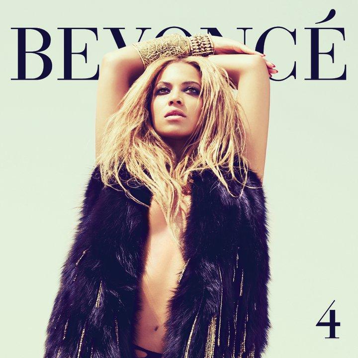 Beyoncé na capa do álbum 4