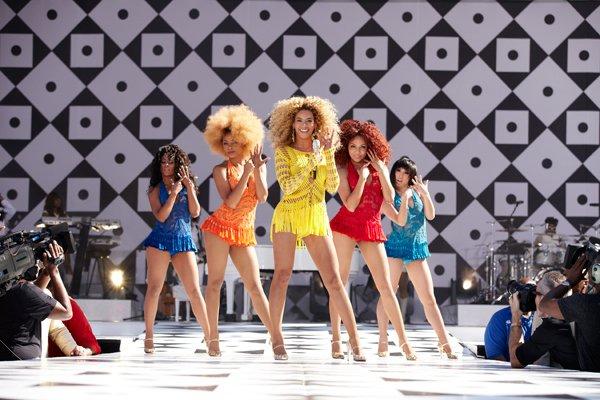 Beyoncé performando Single Ladies