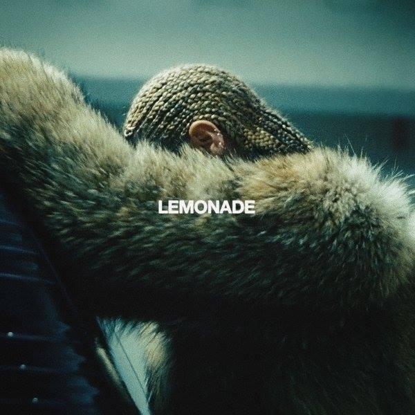 Beyoncé na capa do álbum Lemonade
