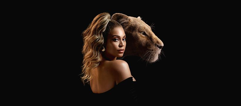 Beyoncé como voz de Nala em The Lion King