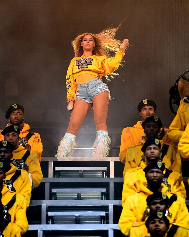 Beyoncé em show do Beychella