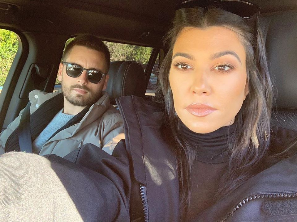 Scott Disick e Kourtney Kardashian