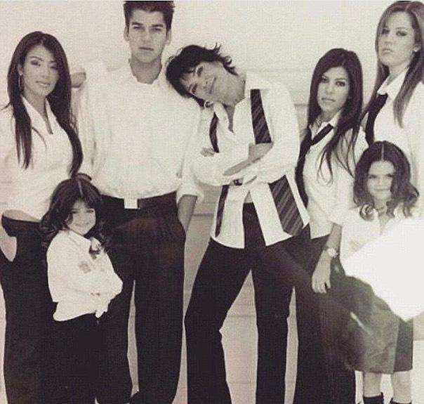Kris Jenner e seus filhos