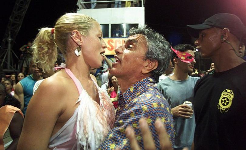 Luana Piovani e Caetano Veloso