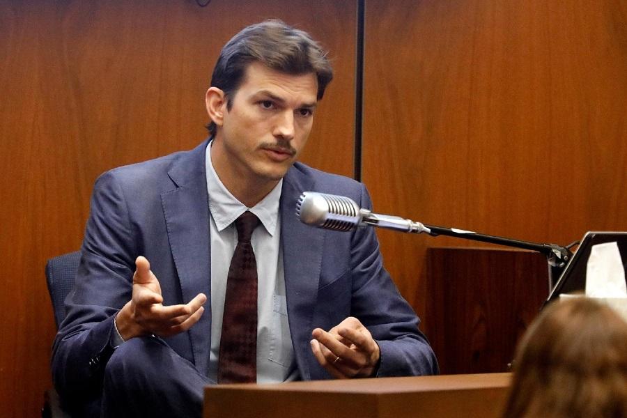 Ashton Kutcher em depoimento sobre o caso de Ashley Ellerin