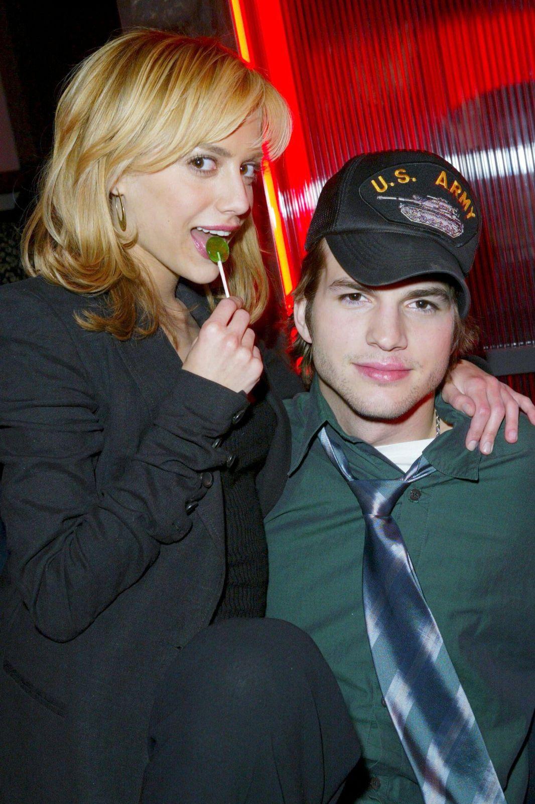 Ashton Kutcher e Brittany Murphy