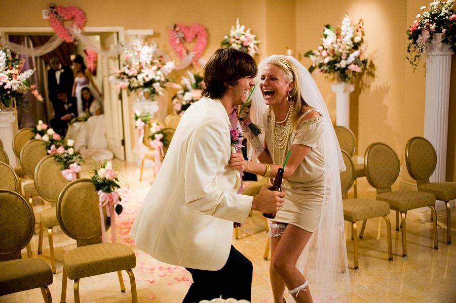 Ashton Kutcher e Cameron Diaz em Jogo de Amor em Las Vegas