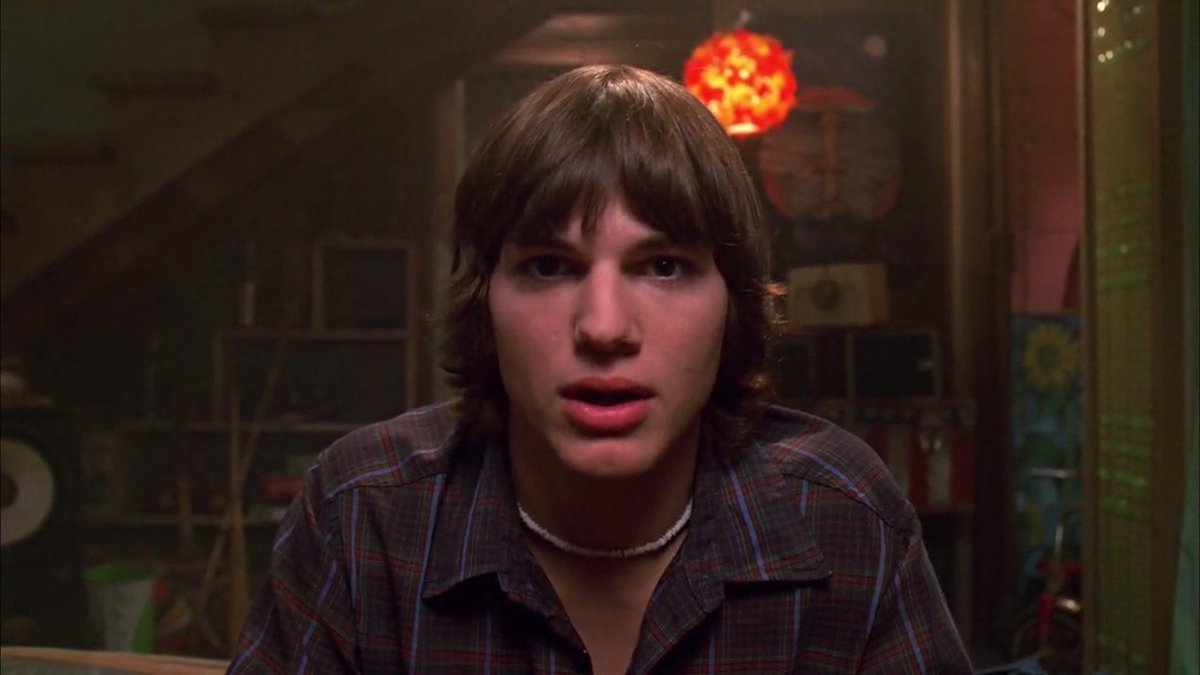 Ashton Kutcher como Michael Kelso