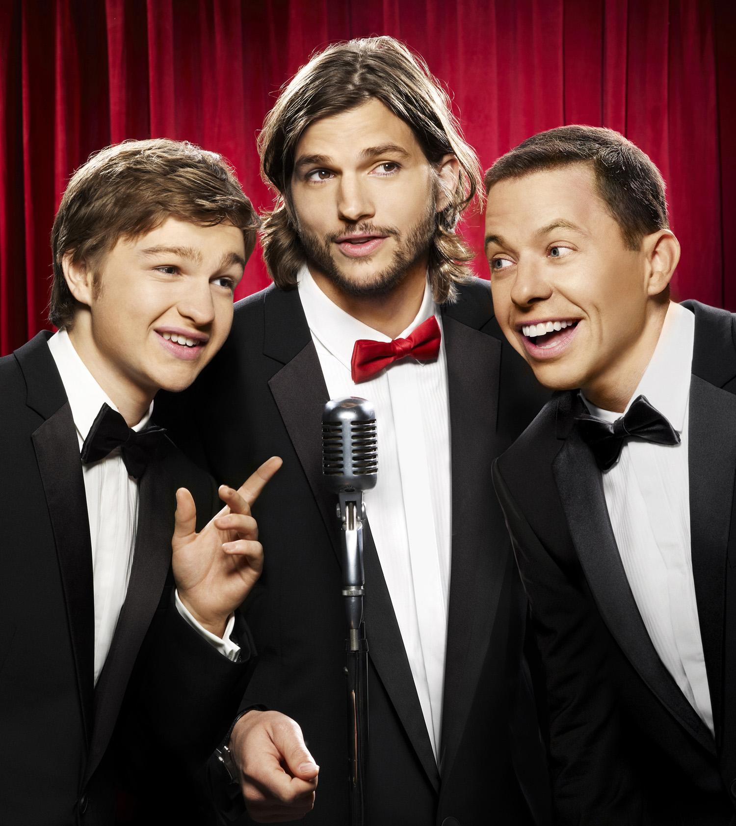 Ashton Kutcher em Two and a Half Man