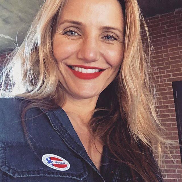 Cameron Diaz em 2019