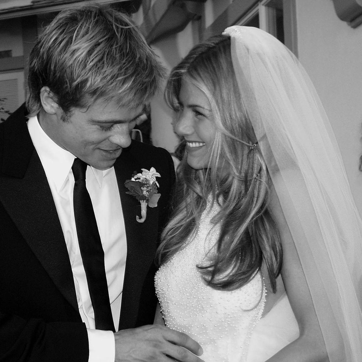 Casamento de Jennifer Aniston e Brad Pitt