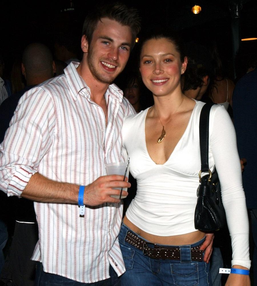 Jessica Biel e Chris Evans