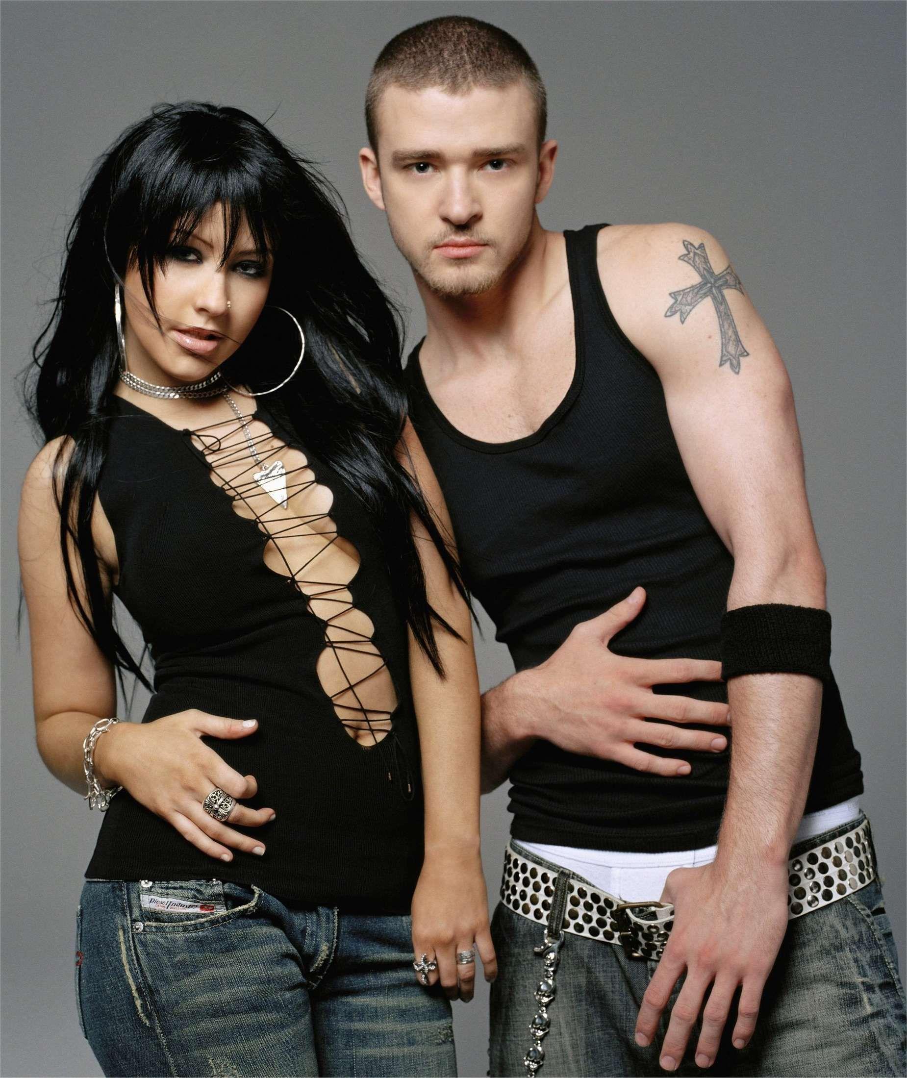 Justin Timberlake e Christina Aguilera