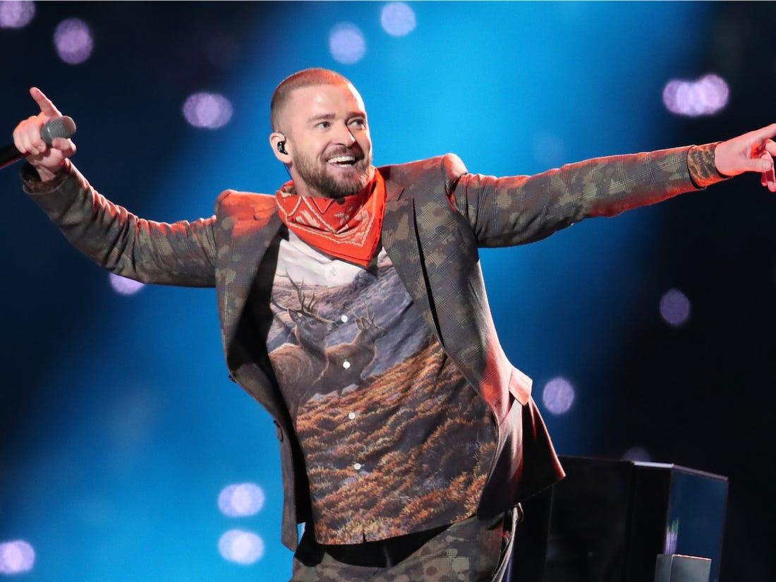 Justin Timberlake no Superbowl 2018