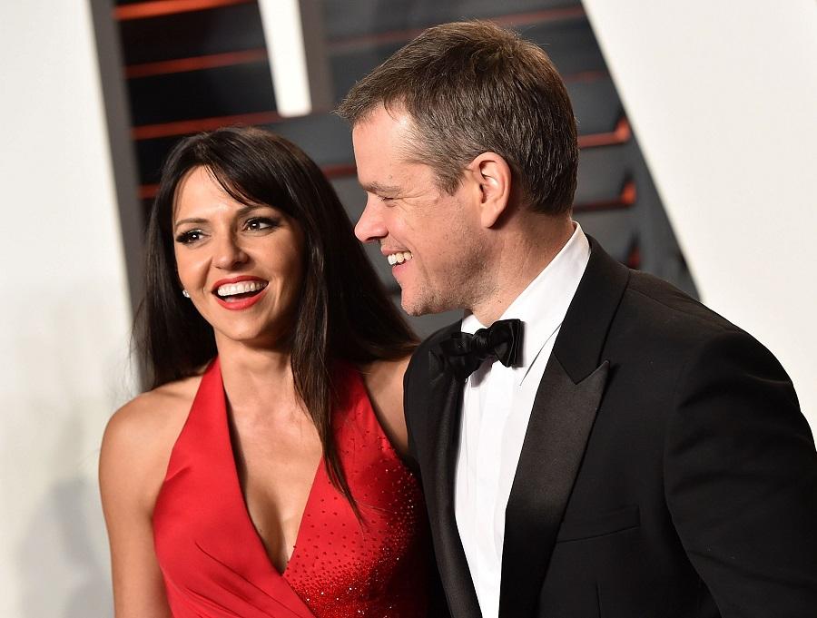 Matt Damon e Luciana Barroso