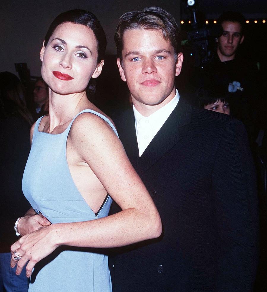 Matt Damon e Minnie Driver