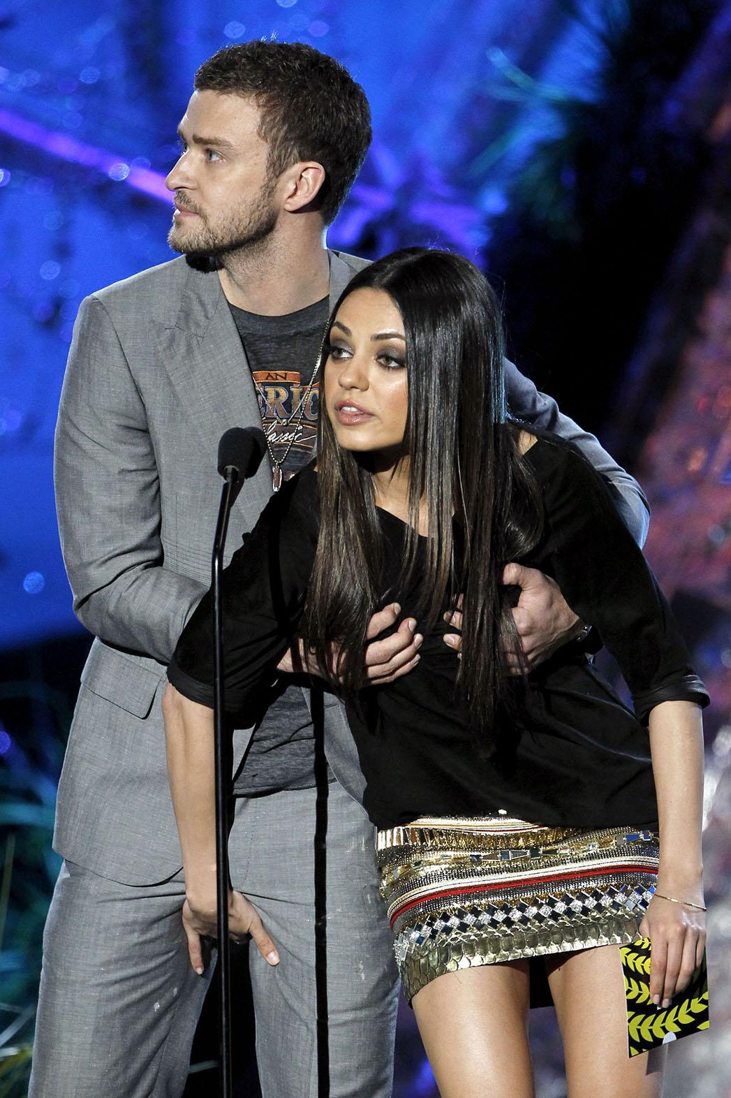 Mila Kunis e Justin Timberlake