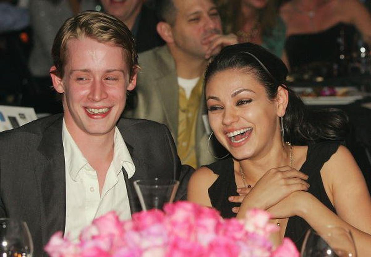 Mila Kunis e Macaulay Culkin