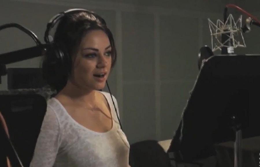 Mila Kunis dublando Meg Griffin