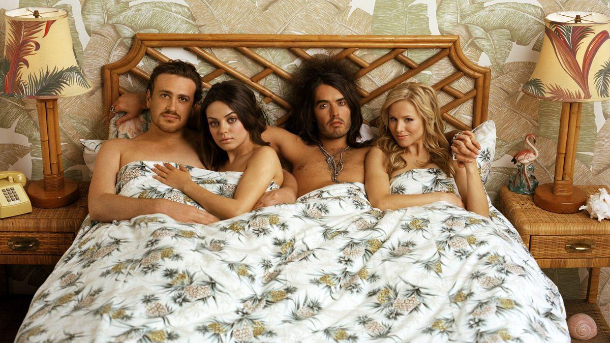 Mila Kunis e o elenco de Ressaca de Amor