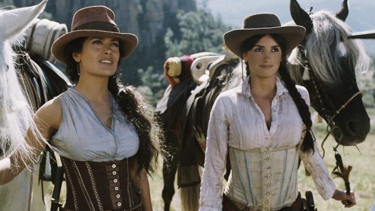 Penélope Cruz e Salma Hayek em Bandidas