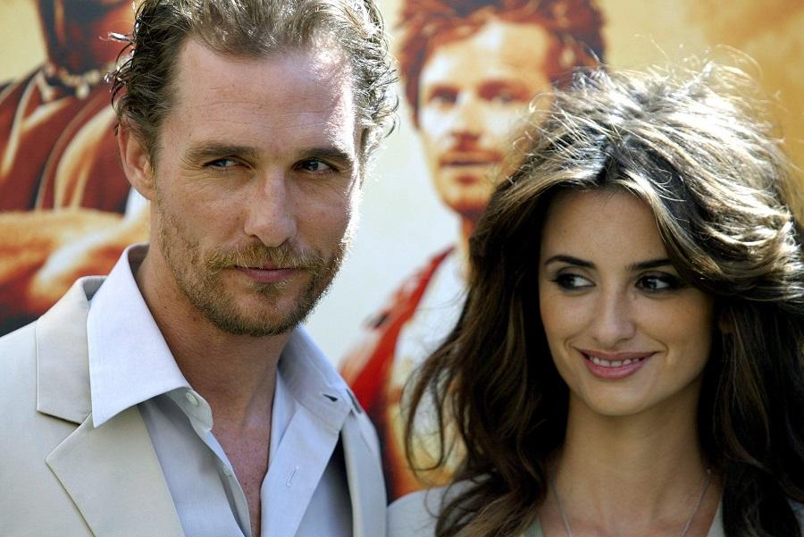 Penélope Cruz e Matthew McConaughey