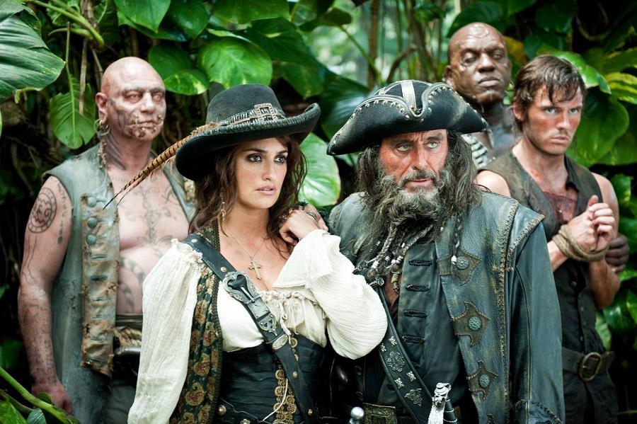 Penélope Cruz em Piratas do Caribe