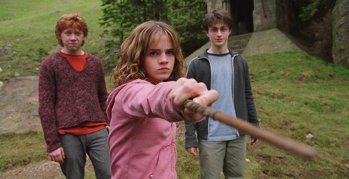 Emma Watson como Hermonie Granger, em Harry Potter