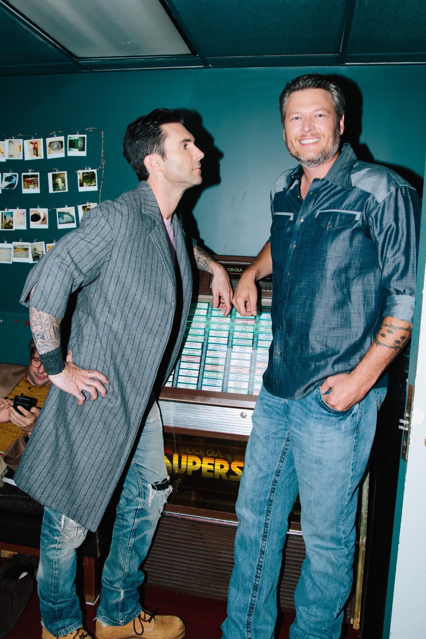 Blake Shelton e Adam Levine