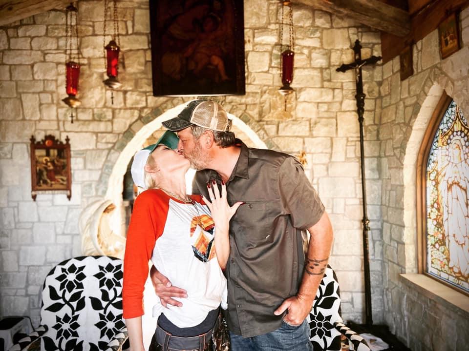 Anúncio do noivado de Blake Shelton e Gwen Stefani