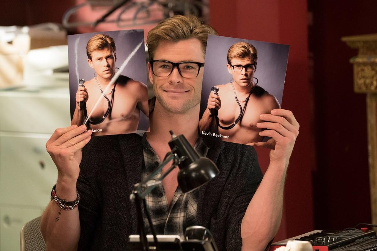 Chris Hemsworth em Ghostbusters
