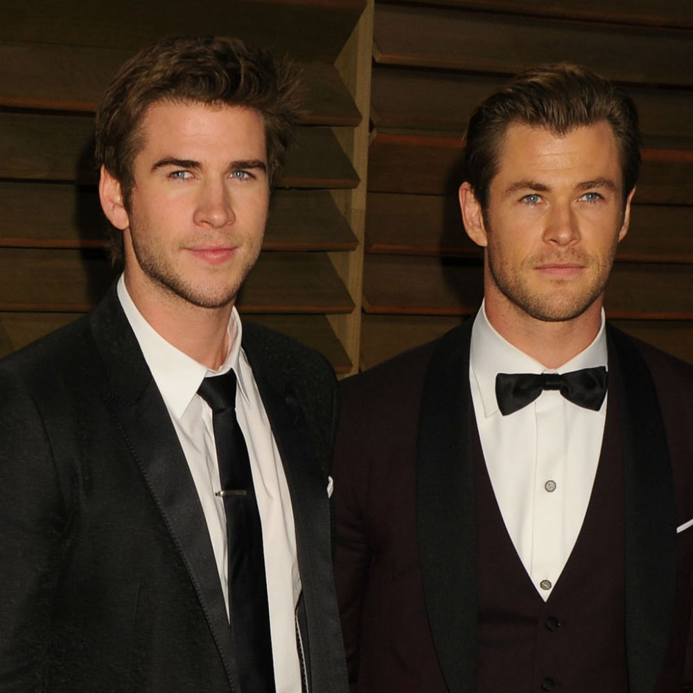 Chris Hemsworth e o irmão Liam