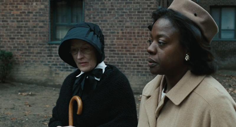 Viola Davis e Meryl Streep em cena de Dúvida