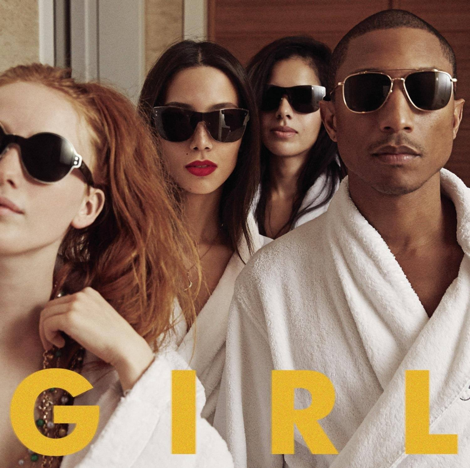 O álbum GIRL, de Pharrell Williams