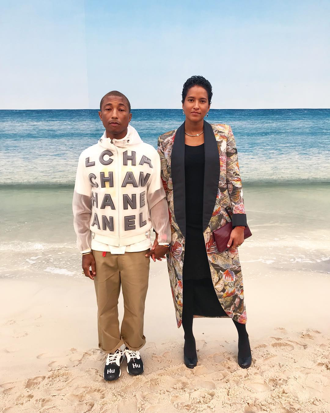 Pharrell Williams e Helen Lasichanh