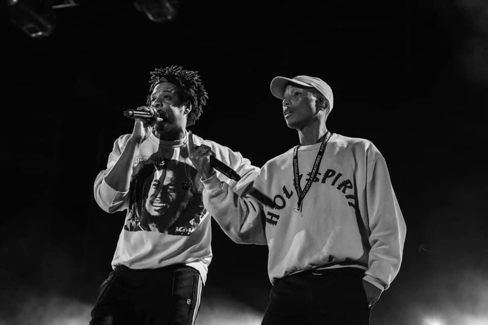 Pharrell Williams e Jay Z