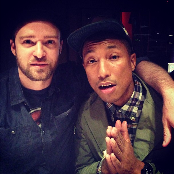 Pharrell Williams e Justin Timberlake