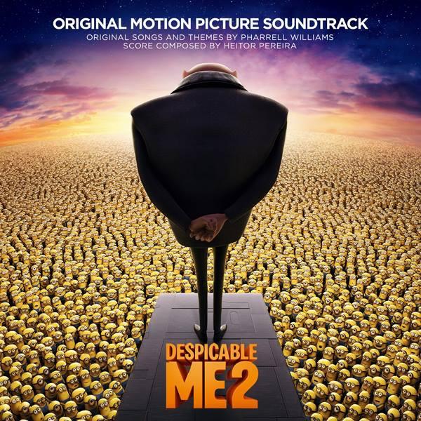 Pharrell Williams fez a trilha sonora de Meu Malvado Favorito
