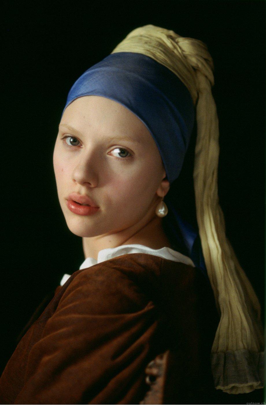 Scarlett Johansson em Moça do Brinco de Pérolas