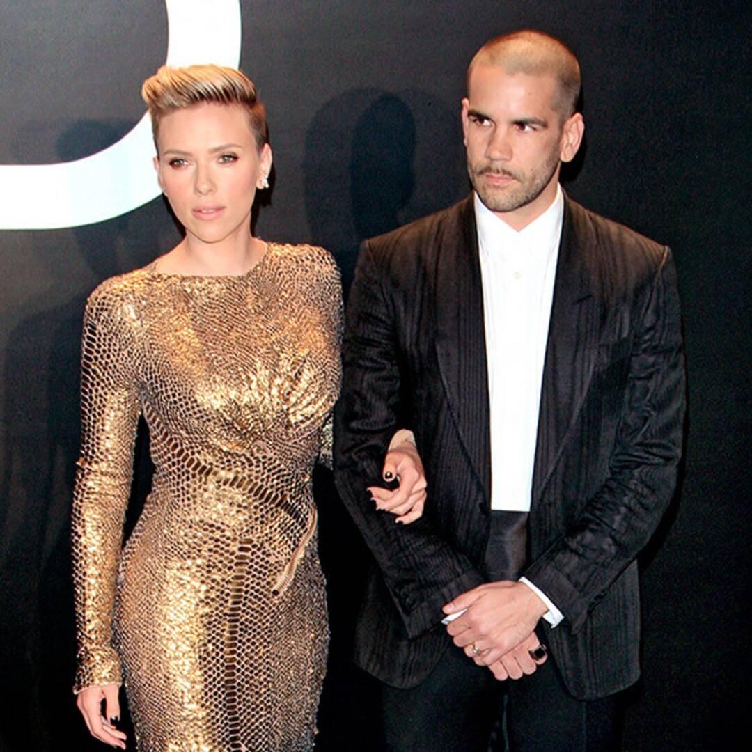 Scarlett Johansson e Romain Dauriac